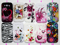 UK US Flag Meteor Star Zebra Butterfly Plum Flower Heart Jellyfish Soft Tpu Gel Silicone Cover for Galaxy Grand Duos i9080 i9082