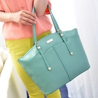2013 autumn women's handbag candy color shell bag handbag vintage bag big bag motorcycle shoulder bag