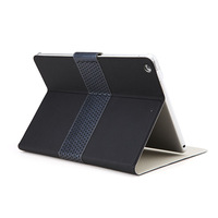 New Arrival ROCK Anti-Dust Luxury Casual Style Excel Series Leather Magnetic Smart Cover Stand Case For iPad 5/Air
