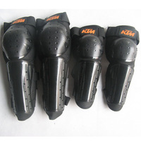 Motorcycle  bicycle   Extreme competition KTM  Protective Gears  kneepad   and elbow pads  4  Family  of four   Free shipping