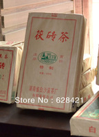 Free shipping (1pcs/lot) Hunan Anhua Baishaxi Dark tea Fu Brick Black Tea n/w 0.8kg BSX024