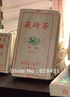 Free shipping (1pcs/lot) Hunan Anhua Baishaxi Dark tea Fu Brick Black Tea n/w 0.8kg BSX024