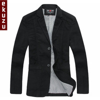 [ EKUZU ] Korean version of the Slim suits men fashion casual menswear autumn outerwear single Western men's suits