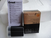 1pc  EN-EL15 enel15 new replacement digital camera camcorder battery pack for nikon D7000 D800 D800E V1,free shipping