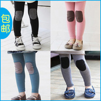 Free Shipping Autumn children's clothing autumn patch 2013 all-match female child baby child trousers legging