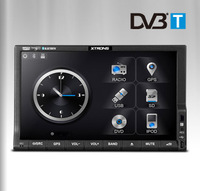 """7"""" Touch Screen WIN CE 6.0 OS ARM Processor Double Din Car DVD GPS with Digital TV Function (MPEG2 & MPEG4 DVB-T)"""