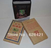 Chinese Hunan Anhua Baishaxi Dark tea Flower Brick Tea 1kg/pcs 1box/2pcs BSX031