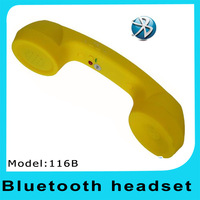 2013 New~  116B+  Wireless Phone Handset for Bluetooth Mobile Phones with Classical Phone Holder Retro Phone Bluetooth Handset