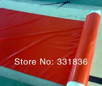 high  quality   red   Silicone Rubber Silicon Sheet /500*500*2mm   free shipping
