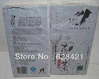 Free shipping Hunan Anhua Gaojiashan flower brick tea wild health and slimingdark tea n/w 1kg GJS019
