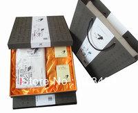 Free shipping Hunan Anhua Gaojiashan Hand-made Fu brick tea wild health dark tea with gift box GJS005