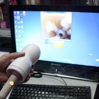 Svakom gaga hd vibration vaginal speculum endoscope lens searchlight