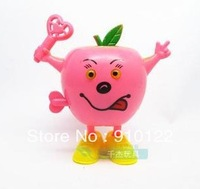 Wholesale Lots 5 Pieces  funny cute apple corn clockwork toys ,BABY KIDS clockwork spring toys,Free shipping