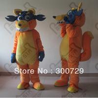 the Swiper Fox  costume foam head with cool fan and helmet hot sale dora mascot costumes