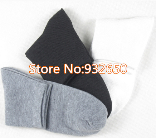 2013 New Wholesale Solid Color Dress Business Socks for Fragrance Men Winter Autumn Soft Meias, 1lot (= 5 pairs) G0055()