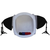 60cm Softlight Round Tent/Cube Softbox Photo Studio Lighting Kit