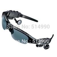 Polarizer Glasses /Stereo Bluetooth Headset Telephone Polarized Driving Sunglasses/mp3 Riding Eyes Glasses Genuine Free YJ121