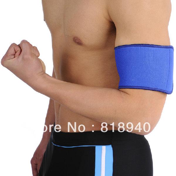 Upper Arm Brace Bicep Support Sports Band Neoprene Guard Basketball Professional(China (Mainland))