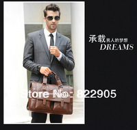Large capacity famous brand male commercial handbag high quality tote travel luggage bag Casual one shoulder messenger bag