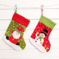 Min.order is $15 (Mix Order) New Year Belt snowman christmas socks Christmas small accessories gift bag decoration gift bags