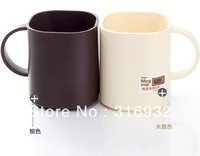 D1 Free shipping, Personalized black white mini coffee tea cup ,plastic cup