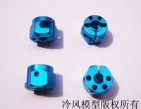 12mm truck rv blue hexagonal 10mm thickness , belt porous