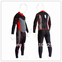 Free shipping Diving suits, dress warm winter swimming surfing clothes  2.5-3 mm  Red black gray  YCC-695