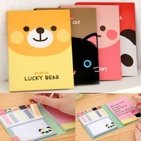 10pcs Cute Animals Sticker Post It Bookmark Point It Marker Memo Flags Sticky Notes