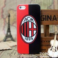 case for iphone 5 design proctective cover / ITALY ITALIA Soccer Team AC MILAN