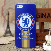 hard case for iphone 5 design proctective cover / Chelsea FC / soccer /  Football