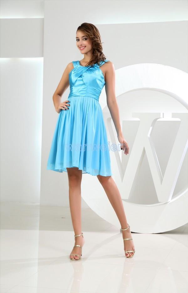 Sky Blue Vestidos Formales