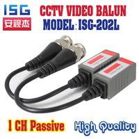 Freeshipping Twisted BNC CCTV Video Balun passive Transceivers UTP Balun  Cat5 CCTV UTP Video Balun up to 3000ft Range 20pieces