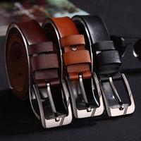 Fashion genuine leather strap male cowhide women's belt dq502