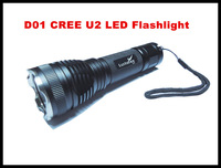 D01 CREE U2 LED Flashlight super bright long-range king hard oxidation rechargeable lithium battery