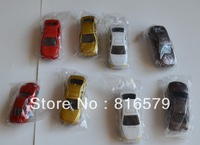 FREE SHIPPING Z SCALE 100pcs 1:200 scale miniature car for scale model train layout Z scale