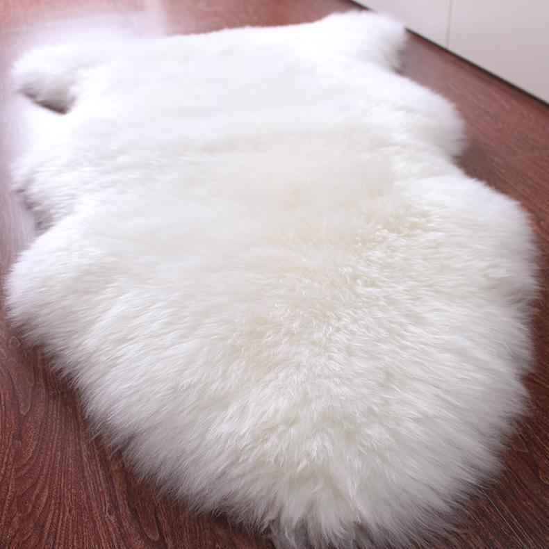 Achetez en gros tapis de fourrure blanche en ligne des - Tapis peau de mouton pas cher ...