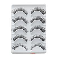 Very Beautiful Eyelashes 5 Pairs/Lot Winged Beauty Supplies Eyelashes Individual False Eyelashes Include Glue For Lashes