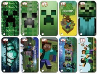 new skin design minecraft touch 5 case hard back cover for ipod touch 5 5G 5th 10PCS/lot+free shipping