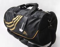 Logo  High quality Designer  canvas Unisex women and men sports travel gym bags  men messenger Handbag f bolsas