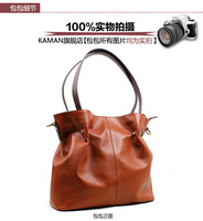 2013 new single shoulder Single shoulder bag Oblique cross handbag  women Genuine leather