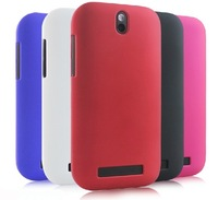 1pcs/lot Hybrid Slim Matte Hard Case for HTC Desire SV T326E Shell Cover Skin with black,blue,purple,red