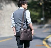 2014 Designer Men Messenger bag  Fashion Men  canvas shoulder sport bags Bolsas Free shipping