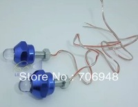 2013 NEW!  DIY Motorcycle Flash LED Light With 6mm Screw 4.1X1.8CM Configure lighting