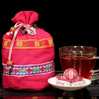 Free shipping new style colored bag loaded 50 Premium Roses tea, mini tea, cooked tea puer