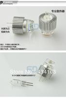 6PCS/LOT Super bright led energy-saving bulb G4 3 w led G4 light bead pin lamp light source