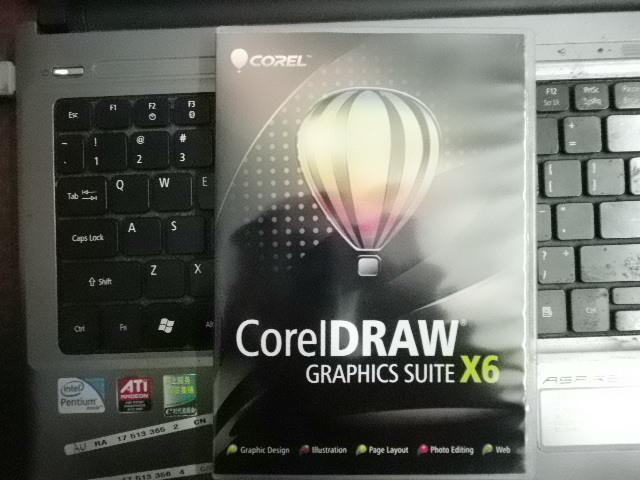 Бесплатная доставка Corel CorelDRAW видеокарта люкс X6 английский для побед