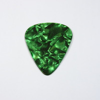 musical instrument,green pearl guitar pick,plectrum guitar 0.71
