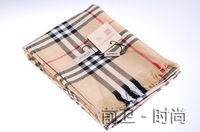 Bu quality wool plaid classic autumn and winter scarf silk scarf cape scarf logo scale