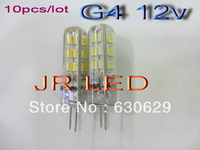 5x Free Shipping High Power SMD3014 1.5W 12V G4 LED Lamp Replace 30W halogen lamp 360 Beam Angle LED Bulb lamp warranty