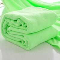 free shipping 1 Piece New Nano Drying Absorbent Bath Towels Washcloths Light Green